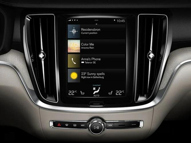 Volvo S60 블랙 시트 인테리어