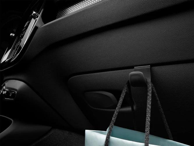 Smart storage options inside a Volvo XC40.