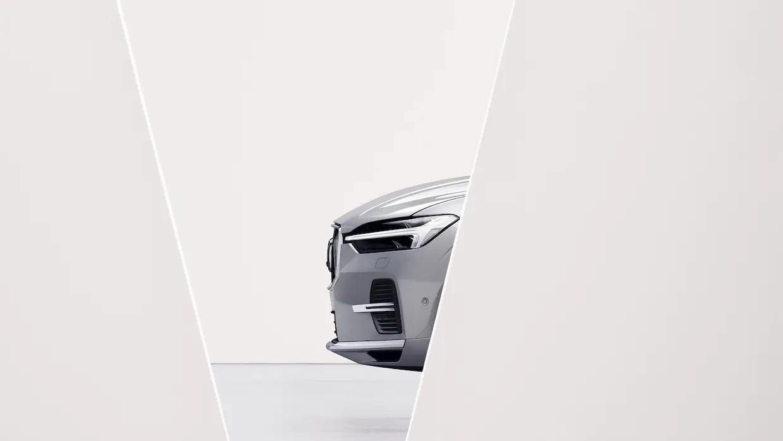 볼보 XC60 리차지의 전면 외관.